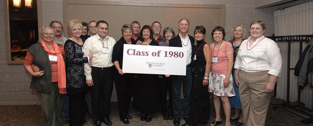 Class of 1980 with Spouses